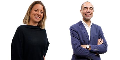 Administradores Cláudia e Jorge