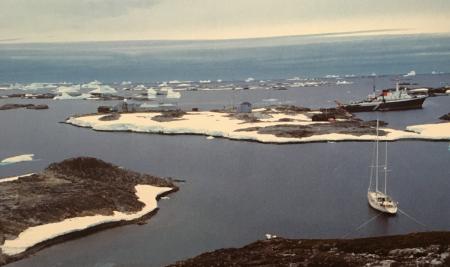 Expedição Antártida – Terra Gelada no IDL
