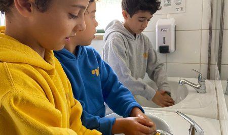 """Alunos do 1.º ano do IDL vencem concurso """"Higiene das Mãos"""""""